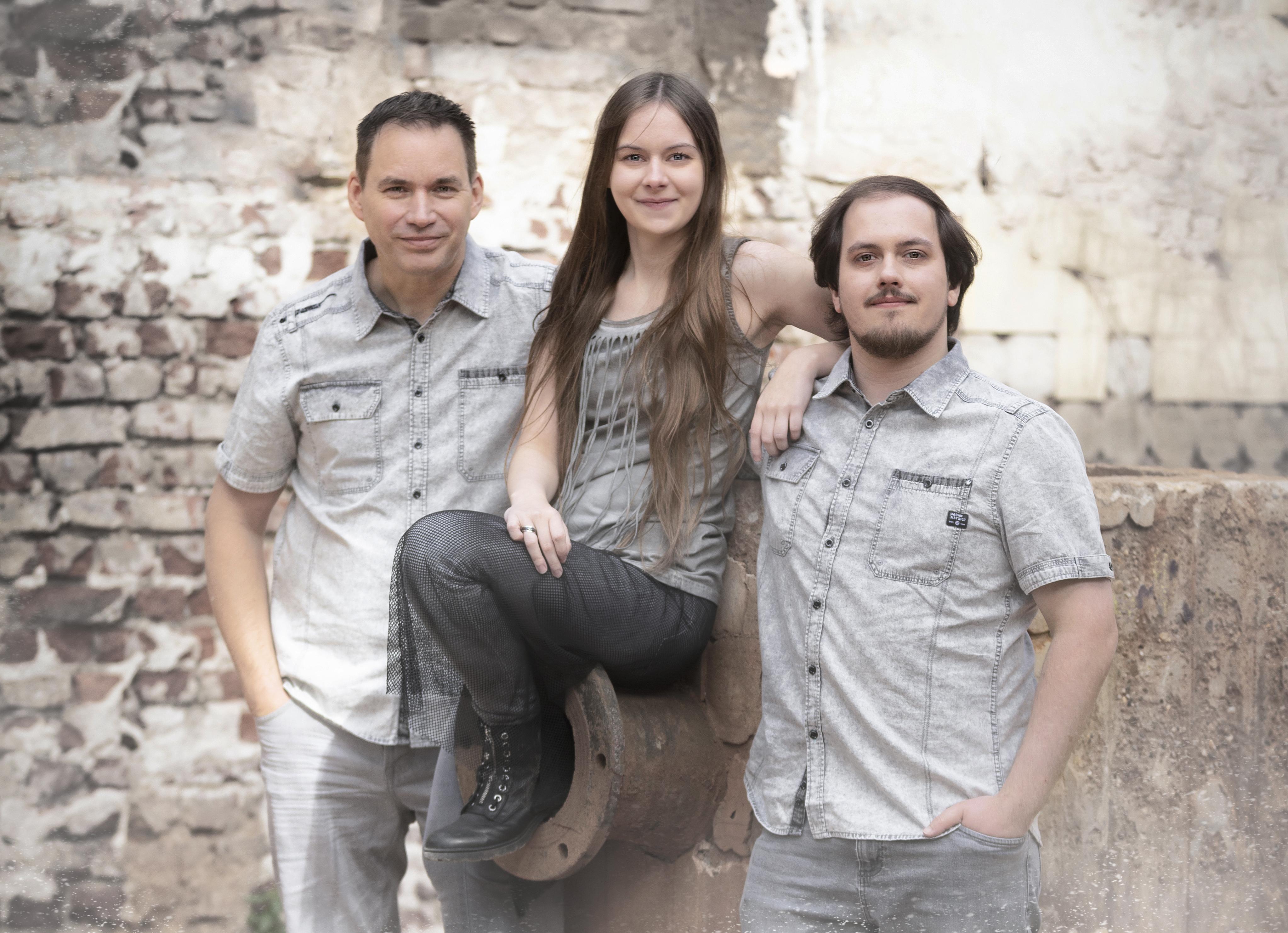 Northpolypticas offizielles Bandfoto für Presse und Social Media – Gothic Rock auf deutsch